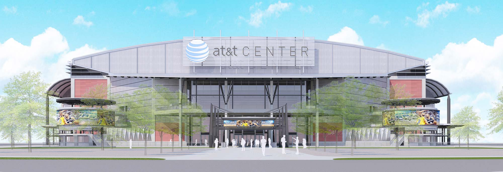 premium selection e0998 1e626 The All-New AT&T Center